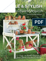 Simple & Stylish Backyard Projects 37 Easy-To-Build Projects