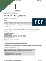 52 Ccna Nat Sim Question