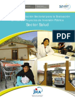 Evaluacion Ex Post Sector Salud