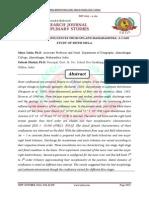 STUDY OF RIVER CONFLUENCES FROM UPLAND MAHARASHTRA