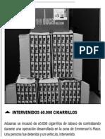150107 La Verdad CG- Intervenidos 60.000 Cigarrillos en Gibraltar p.6