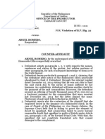 Final Counter Affidavit Criminal Case