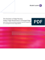 Alcatel Lucent-The Evolution of Edge Routing-Today's High-Performance Converged Edge