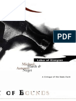 ((Theory Out of Bounds)) Michael Hardt & Antonio Negri-Labor of Dionysus_ a Critique of the State-Form -Univ of Minnesota Press (1994)