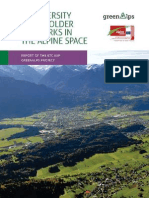 Biodiversity Stakeholder Networks in the Alpine Space