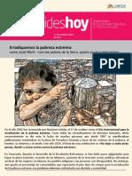 013 Día Internacional de La Erradicación de La Pobreza Extrema