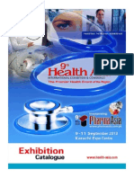 HealthAsia Exhibition Catalog 2013