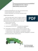 Analiza Constructiv Functionala a Presei Pentru Paie Si Fan, Ppf