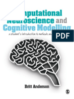 Computational Neuroscience and Cognitive Modelling