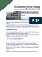 Análisis Ergonómico de Las Aulas Del Nuevo Campus de La Unidad de Ciencias Económico Administrativas