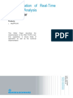 Implementation of Real-Time Spectrum Analysis White Paper