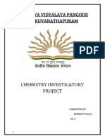 CHEMISTRY INVESTIGATORY PROJECT - STUDY  OF CONSTITUENT OF ALLOYS