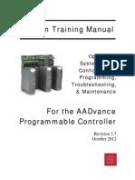 AADvance Comprehensive Training Manual (Rev 1.7 Oct 2012)