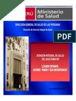 Atencion Integral de Salud Del Adulto Mayor - Minsa