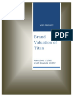 brand valuation of titan