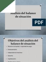 Análisis Del Balance de Situación