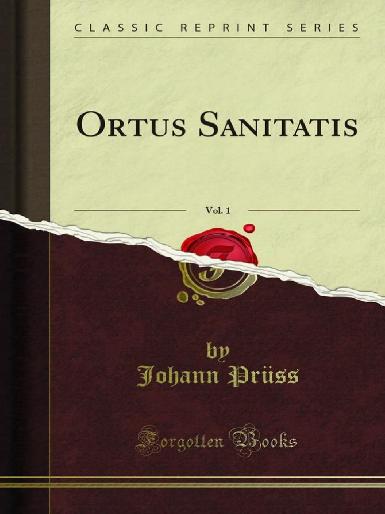 Acero Radici Invasive ortus sanitatis | publishing | books