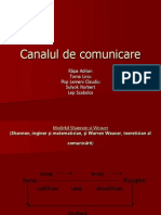 Canalul de Comunicare