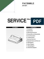sm SF150T Service