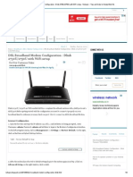 DSL Broadband Modem Configuration _ Dlink 2730U_2750U With WiFi Setup