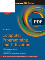 Computer Programming and Utilization, 2:e (GTU June 2011)