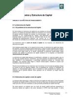 Lectura 6 - Estructura de Financiamiento