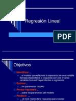 Análisis de Regresión numerica