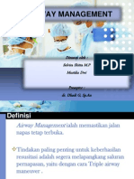Referat Anesthesia Airway Management