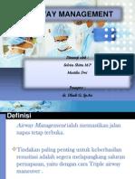 Referat Anesthesia Airway Management