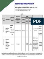Calendario Escolar 2015 - SEE SP