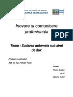 Inovare Si Comunicare Profesionala