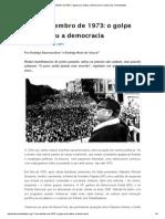 11 de Setembro de 1973_ o Golpe Que Matou a Democracia _ Vozes Das Comunidades