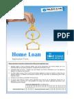 Sbi Home Loan Application Form
