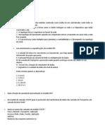 Prova 1 - Fundamentos de Rede (TODAS)