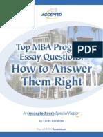 Essay Question Tips