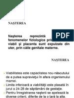 Nasterea, Perioadele Nasterii, Timpii Nasterii