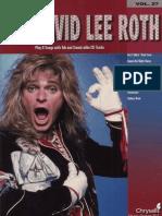 David Lee Roth - Guitar Play-Along Vol. 27 (Book)