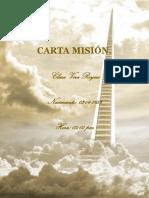 Carta Misión