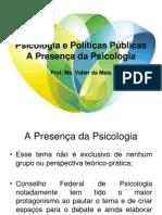 Psicologia e Políticas Públicas_Presença