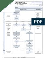 Diagrama de Flujo Control de Gestión 2012