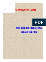 Buildings Instalations Course