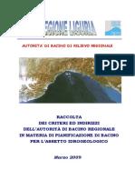 Raccolta Criteri Ed Indirizzi AdB - Marzo 2009