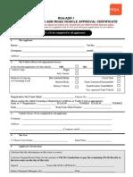 App Form ADR Cert