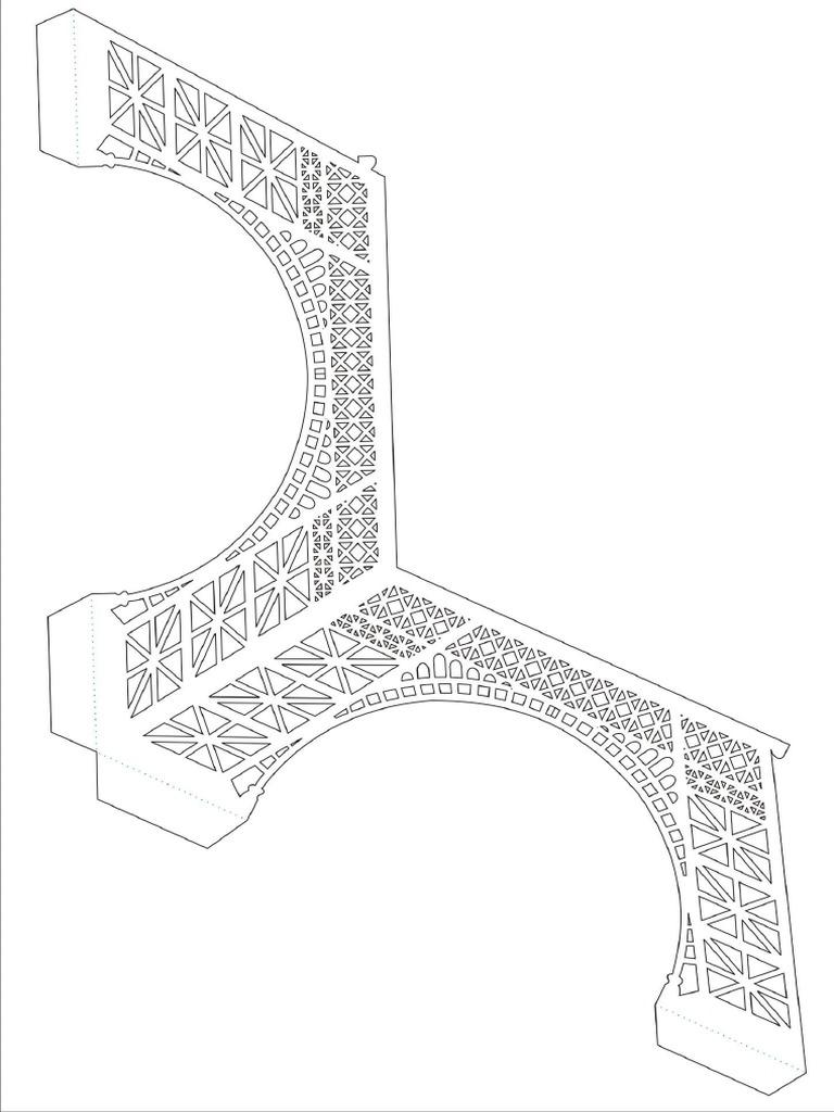 best Plantilla De Kirigami Torre Eiffel image collection
