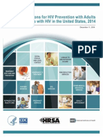 Recommendations for HIV prevention with adults and adolescents with HIV in the United States, 2014