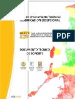 Modificación Plan de Ordenamiento Territorial
