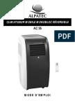 Manuel climatiseur mobile AC-36