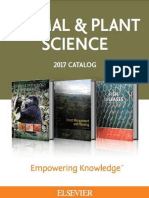 2017 Animal & Plant Science Catalog