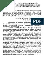 Sinteze Practica Judiciara Trim I 2009 Curtea de Apel Pitesti