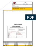 PUMP DATA SHEET - 0410-PPC-0069 - 0070